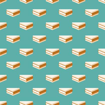 Tonkatsu Japanese Sandwich Pattern