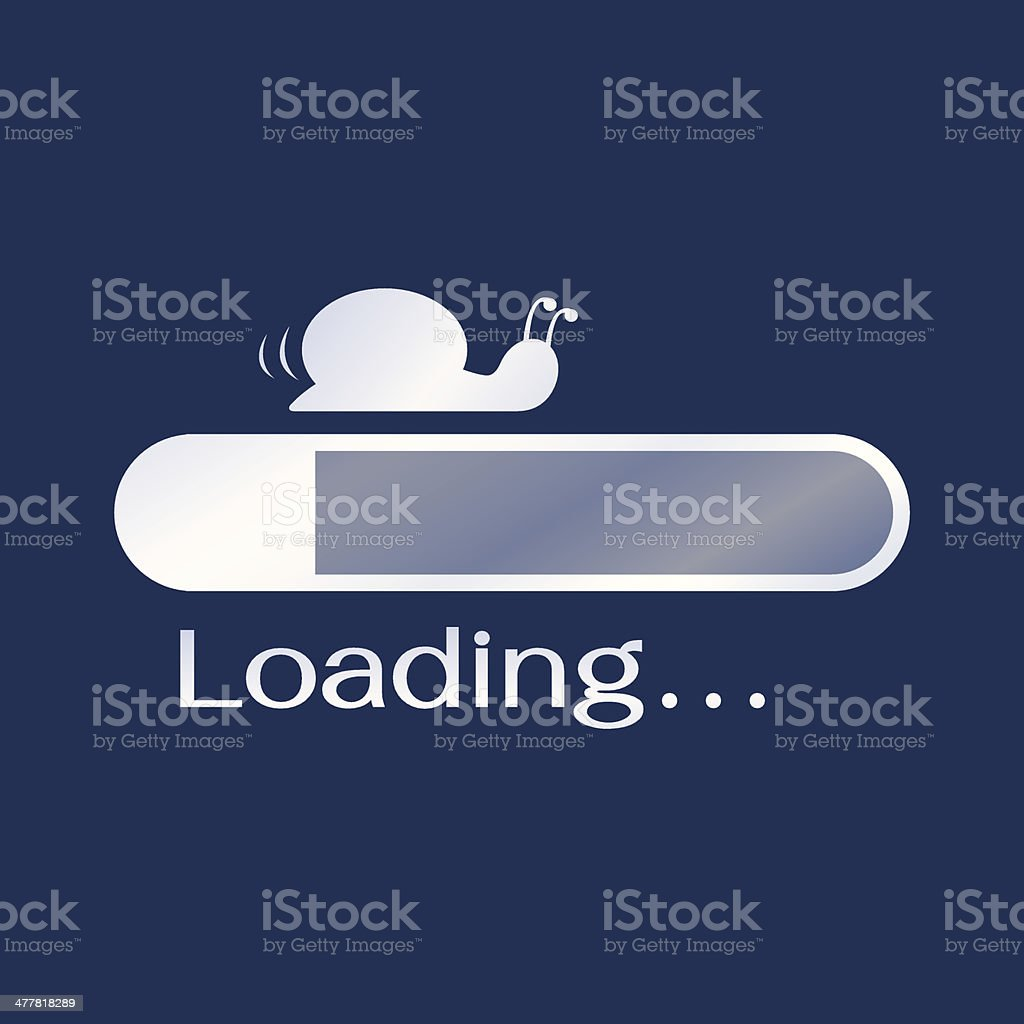 Too slow loading vector art illustration