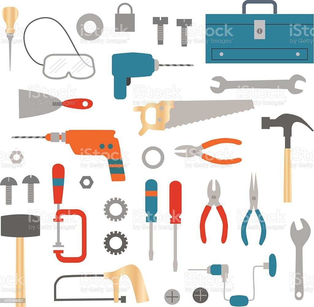 Tool And Hardware Clip Art Stock Vector Art More Images