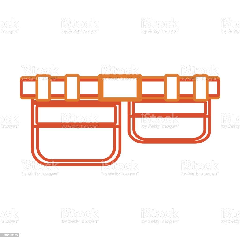 tool  belt  vector illustrati royalty-free tool belt vector illustrati stock vector art & more images of adhesive tape