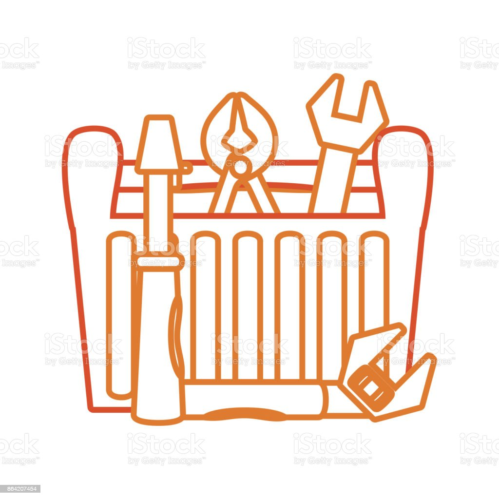 tool box  vector illustratio royalty-free tool box vector illustratio stock vector art & more images of animal
