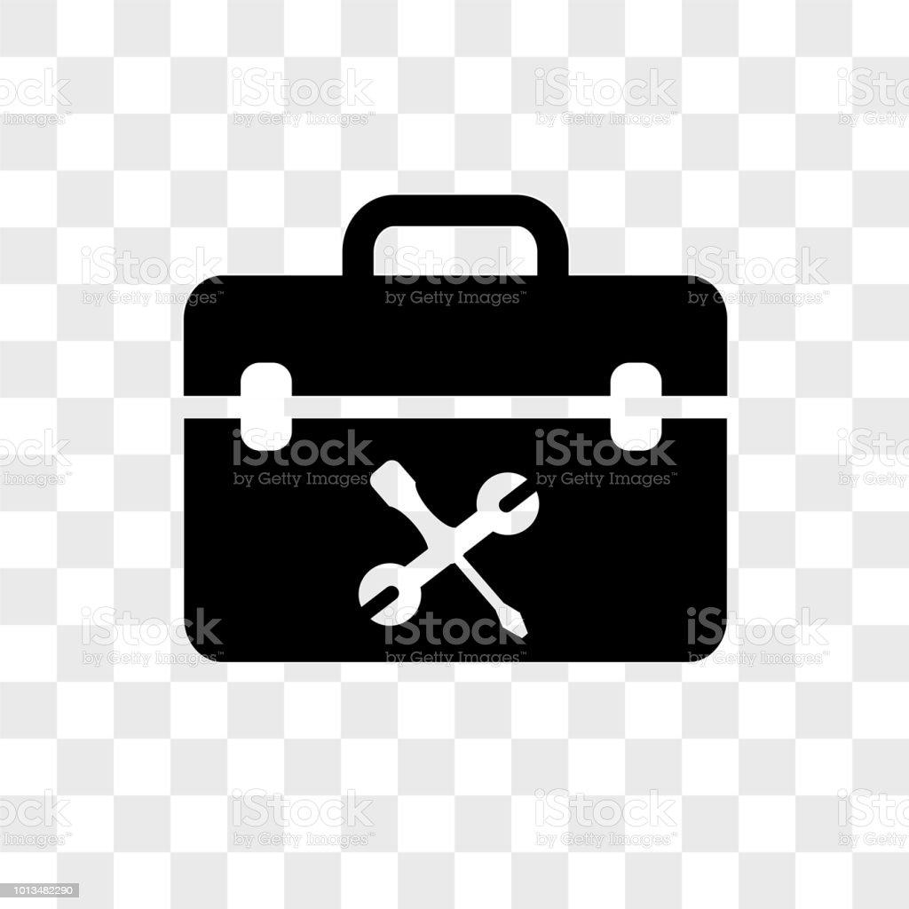 Toolboxvektorsymbol Auf Transparenten Hintergrund Toolboxsymbol ...