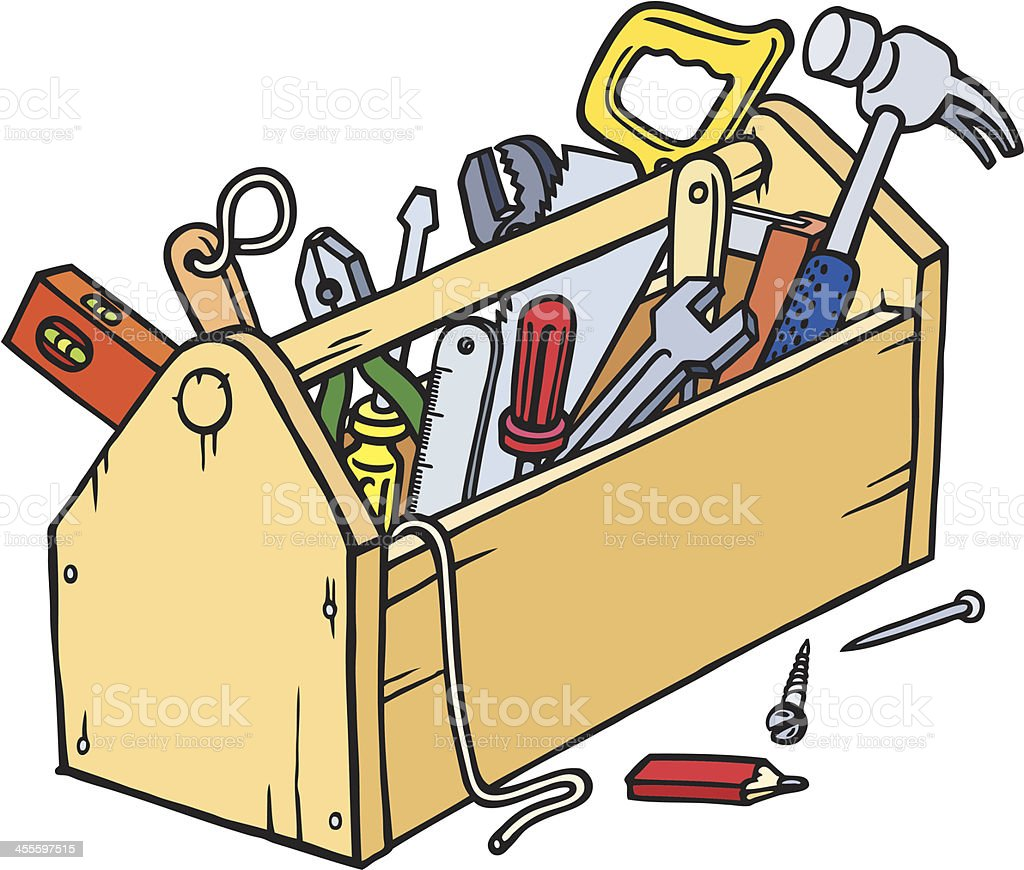 royalty free red toolbox clip art vector images illustrations rh istockphoto com tool box clipart black and white toolbox clip art png