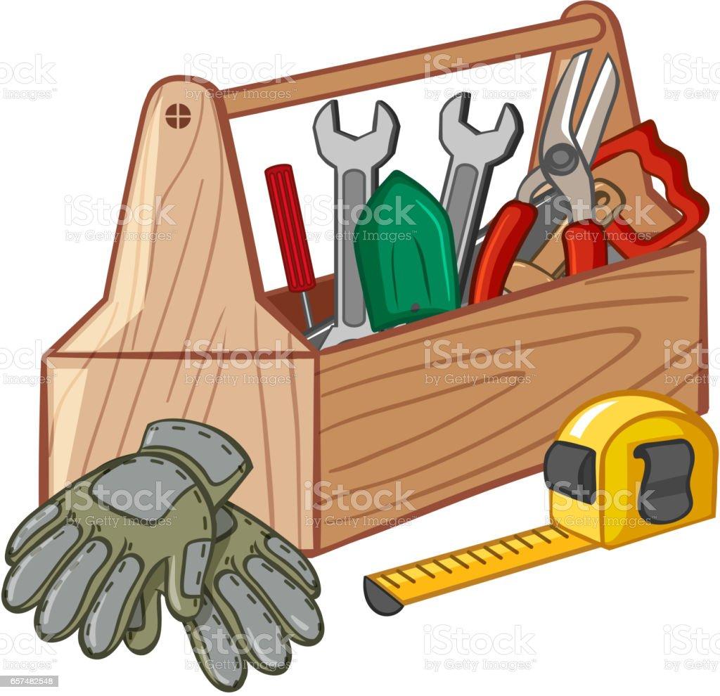 royalty free clip art of a tool box clip art vector images rh istockphoto com tool box clip art free tool box clip art black and white