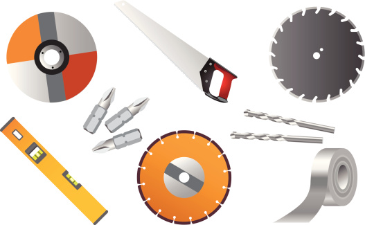 Tools 01 Stock Illustration - Download Image Now