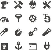Tools and Settings icons - Mobico collection