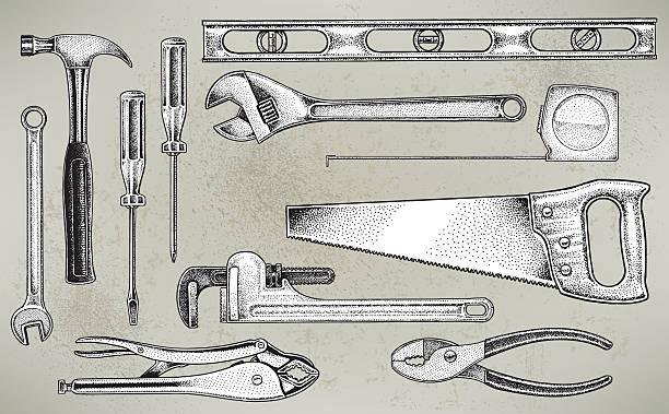 ツール-建設用機器 - 大工点のイラスト素材/クリップアート素材/マンガ素材/アイコン素材