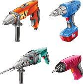 Tools: drill, hammer, screwdriver
