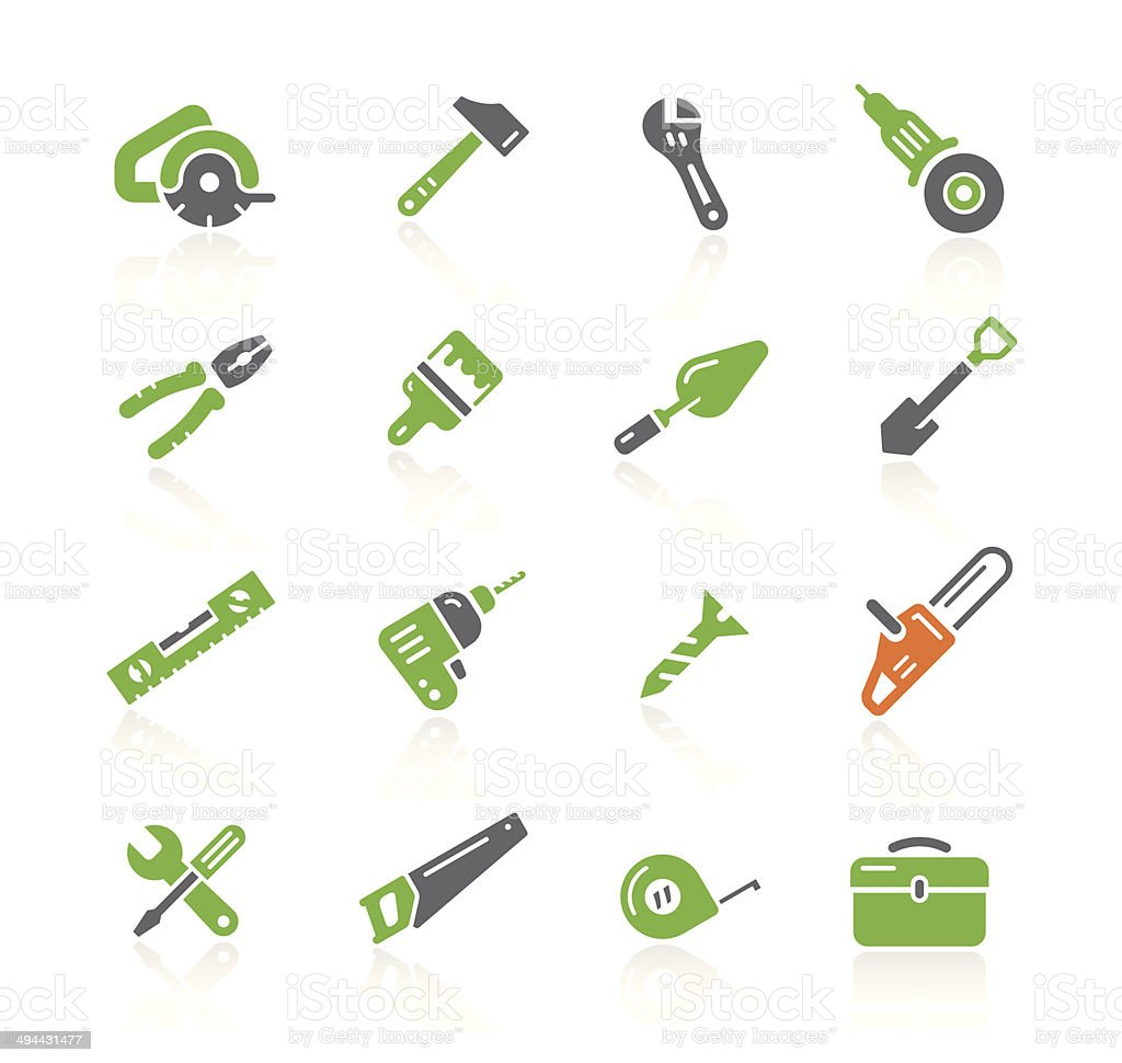 Tools Icons | Spring Series vector art illustration