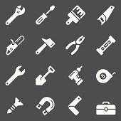 Tools Icons - White Series
