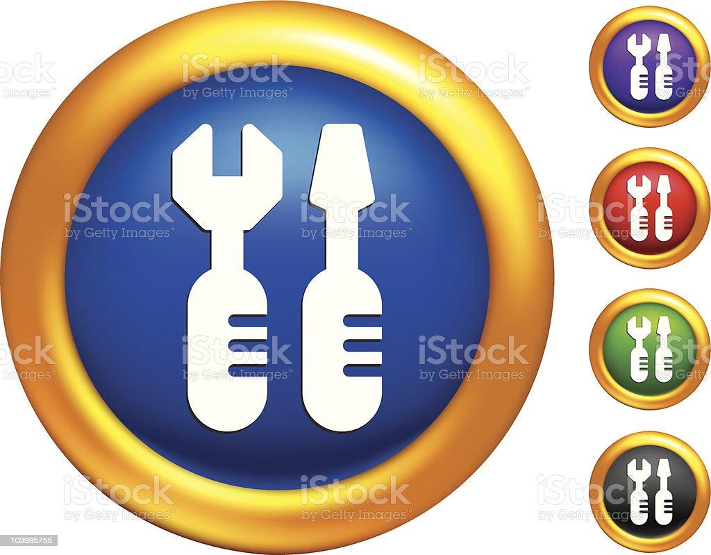 tools internet icon royalty-free stock vector art