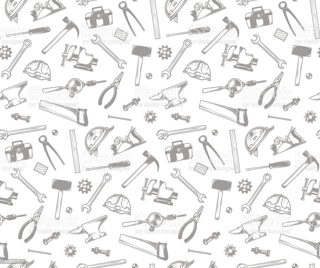 tools pattern stock vector art 515000900 istock