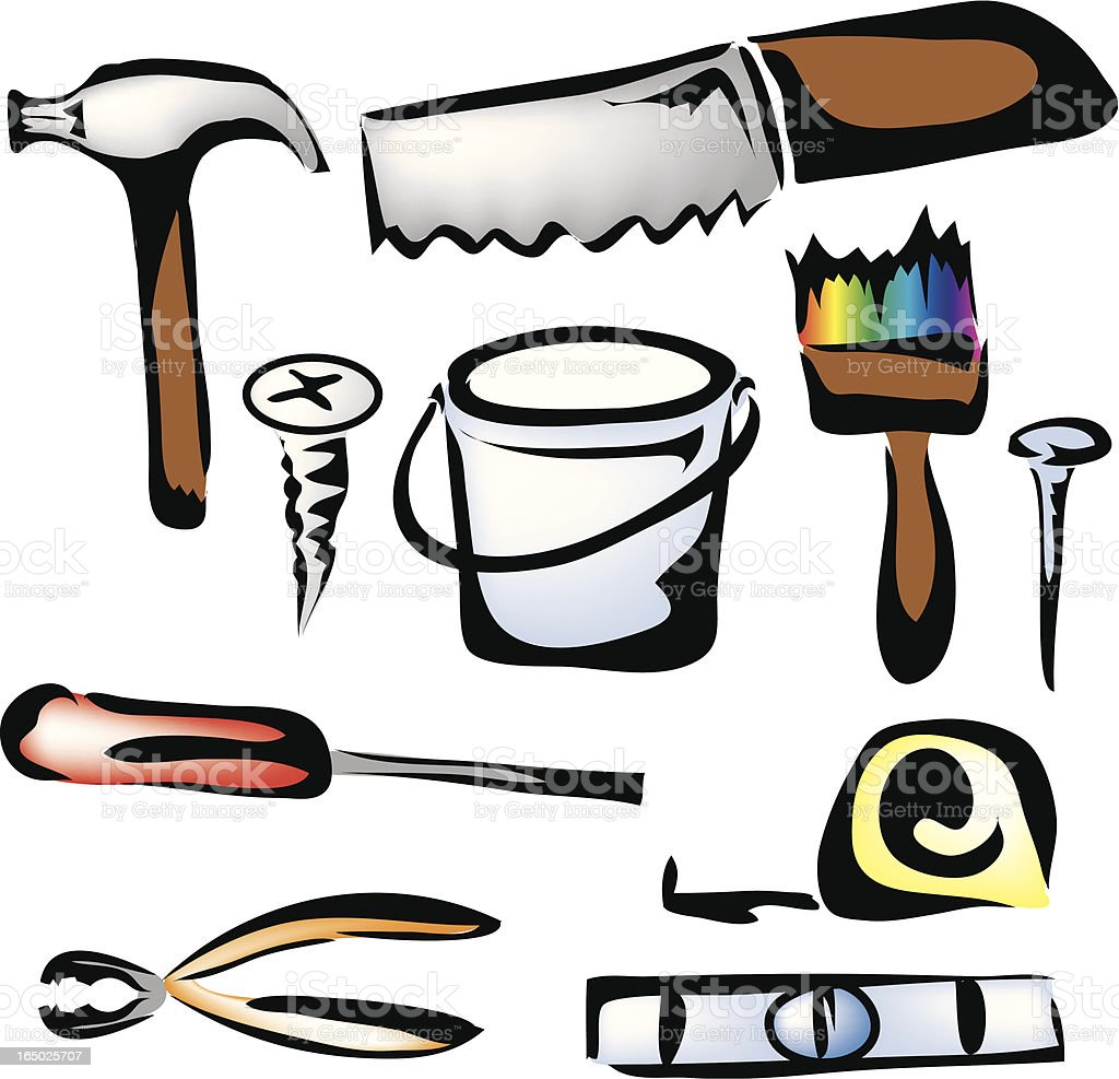 Tools royalty-free stock vector art
