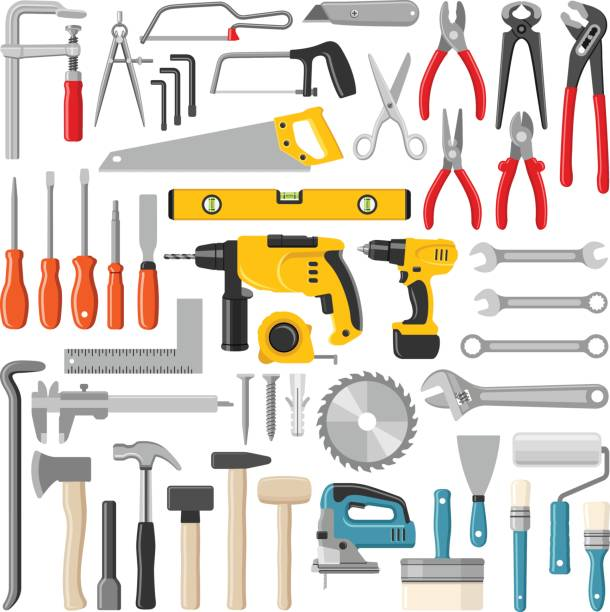 tools - tools stock illustrations