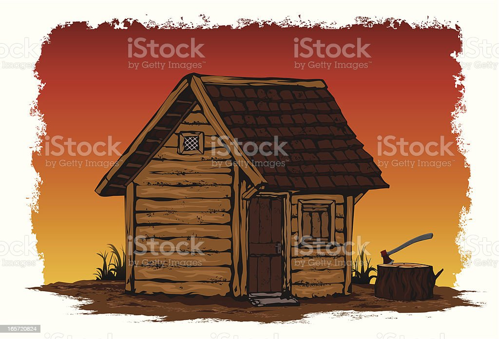 toolshed royalty-free stock vector art