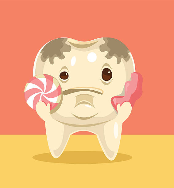 Royalty Free Stained Teeth Clip Art, Vector Images ...