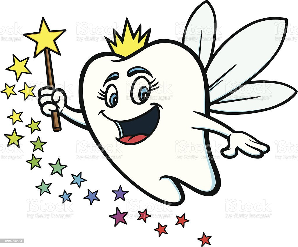 royalty free tooth fairy clip art vector images illustrations rh istockphoto com tooth fairy clipart f tooth fairy clipart free