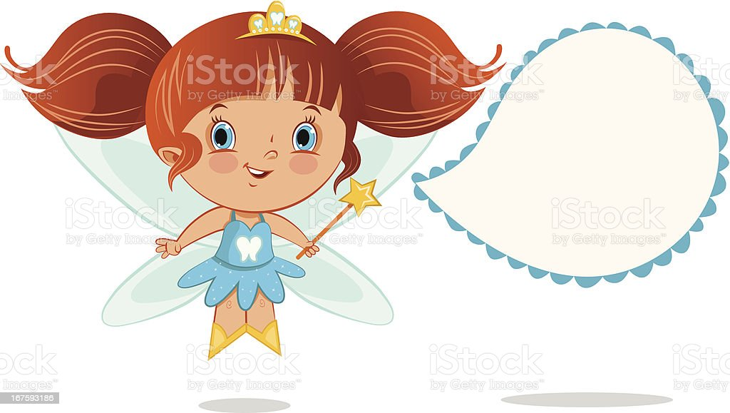 Tooth Fairy royalty-free stock vector art