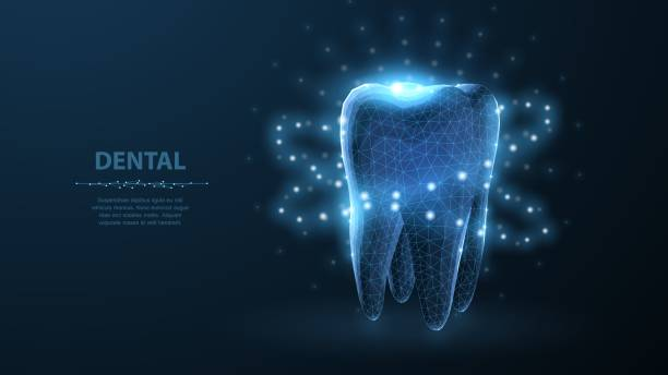 illustrazioni stock, clip art, cartoni animati e icone di tendenza di tooth. - denti