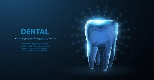 Tooth. vector art illustration