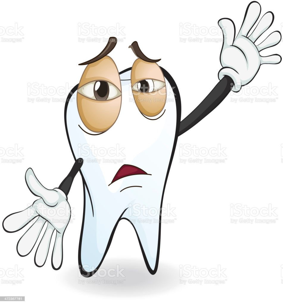 Tooth royalty-free tooth stock vector art & more images of characters