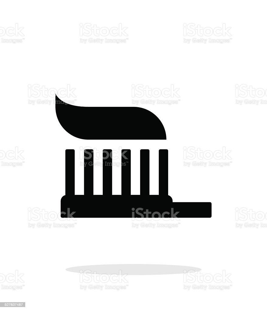 Toothbrush icon. vector art illustration