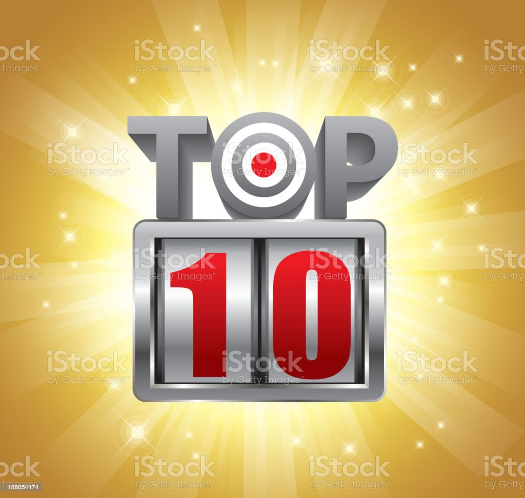 Top 10 royalty-free stock vector art