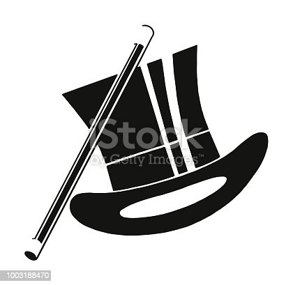 istock Top Hat and Baton 1003188470