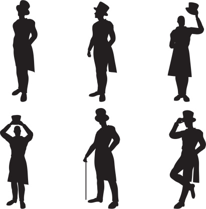 Top Hat Silhouettes