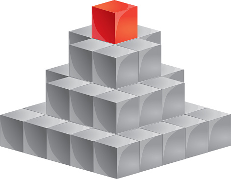 Top of the cubes