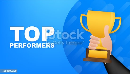 Top Performers. Website template designs. Vector illustration concepts for website and mobile website design and development. Vector illustration