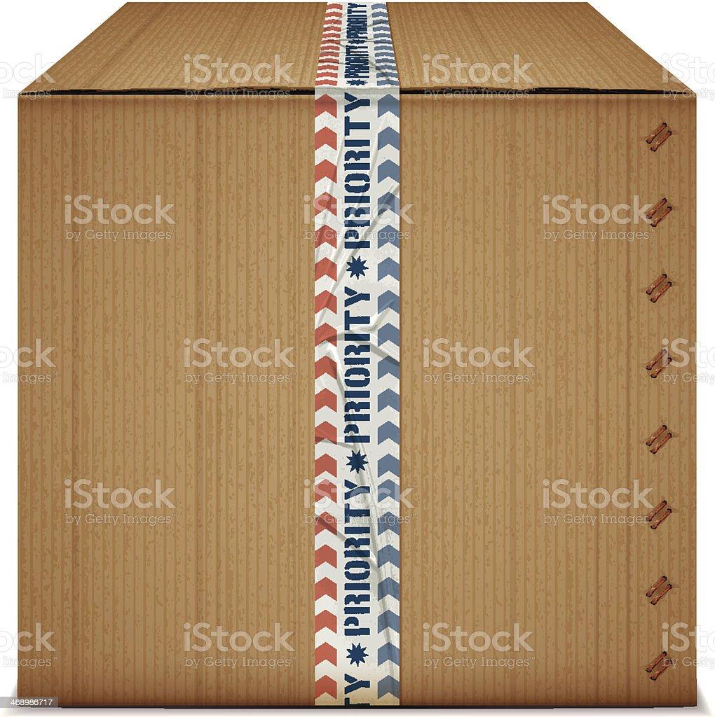 top priority box royalty-free stock vector art
