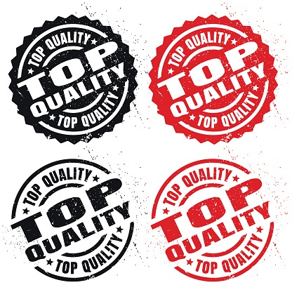 Top Quality, rubber stamp