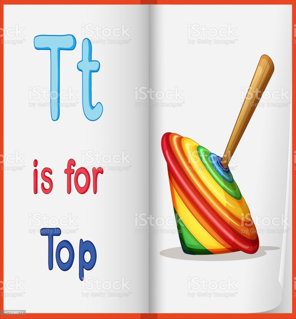 Top toy royalty-free top toy stock vector art & more images of alphabet