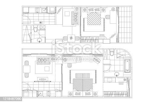 Floor Plan Furniture Clipart Free Download