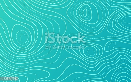 Topographic abstract background lines pattern.
