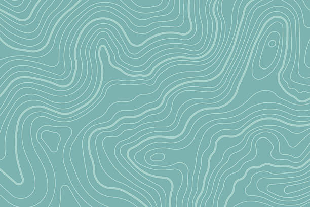 topographic map background - 大自然 幅插畫檔、美工圖案、卡通及圖標
