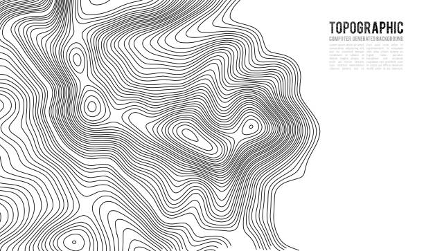 Topographic map contour background. Topo map with elevation. Contour map vector. Geographic World Topography map grid abstract vector illustration . Mountain hiking trail line map design Topographic map contour background. Topo map with elevation. Contour map vector. Geographic World Topography map grid abstract vector illustration . relief emotion stock illustrations