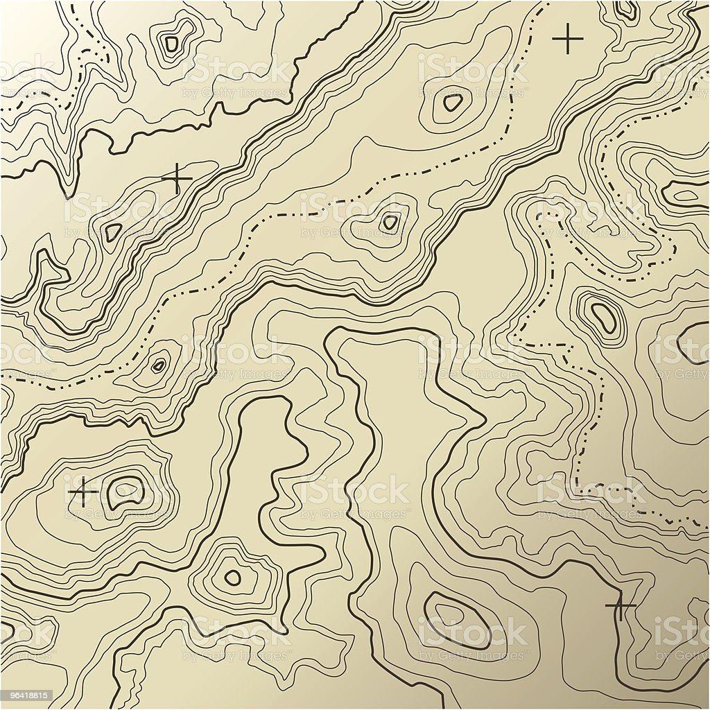 Topography [vector] vector art illustration