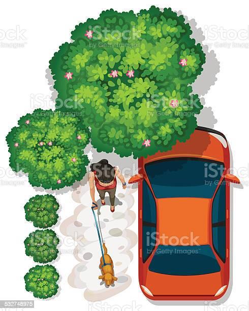 Topview of a girl at the park near the vehicle vector id532748975?b=1&k=6&m=532748975&s=612x612&h=yjgy zz1akoztbfrksm00lq7frhqwfemutidbrdm go=