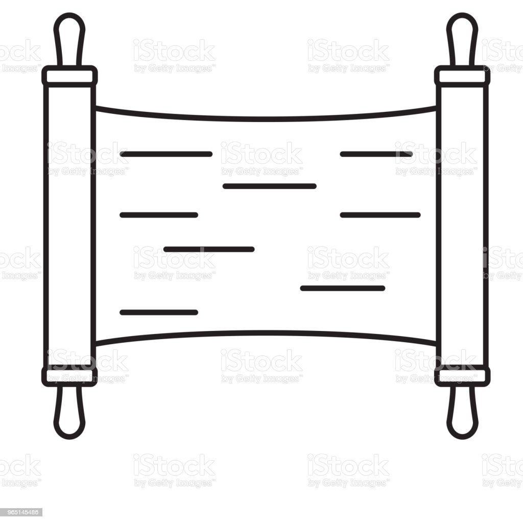 torah line icon royalty-free torah line icon stock vector art & more images of ancient