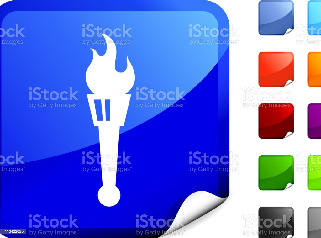 torch internet royalty free vector art royalty-free stock vector art