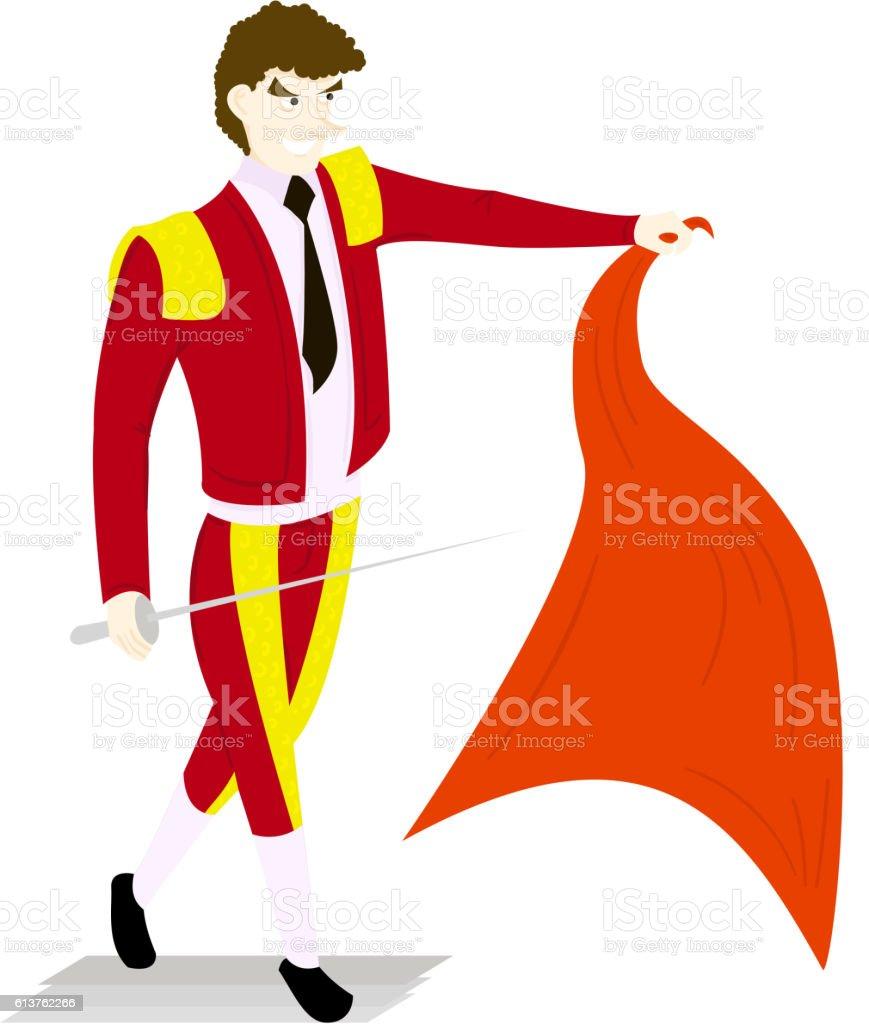 royalty free matador cape clip art vector images illustrations rh istockphoto com
