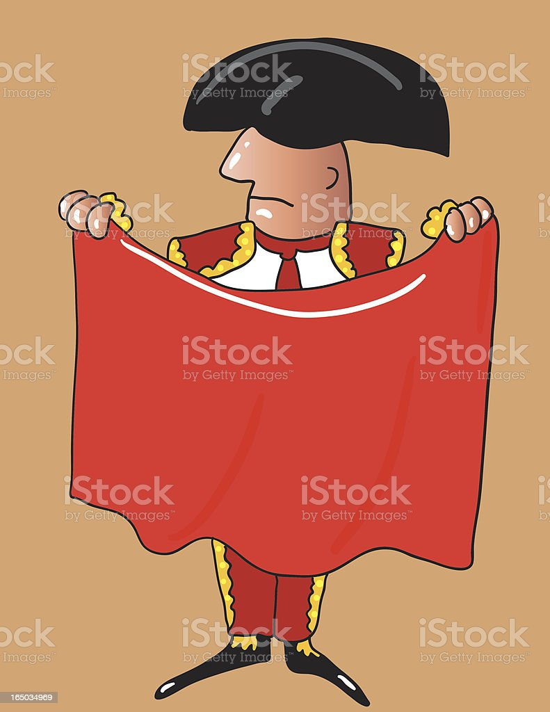 toreador royalty-free stock vector art