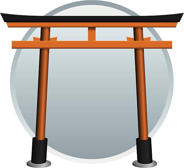 Torii Gate Clip Art, Vector Images & Illustrations - iStock