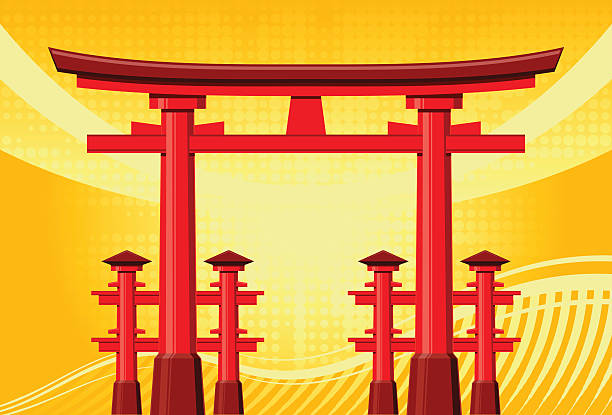 Royalty Free Torii Gate Clip Art, Vector Images ...