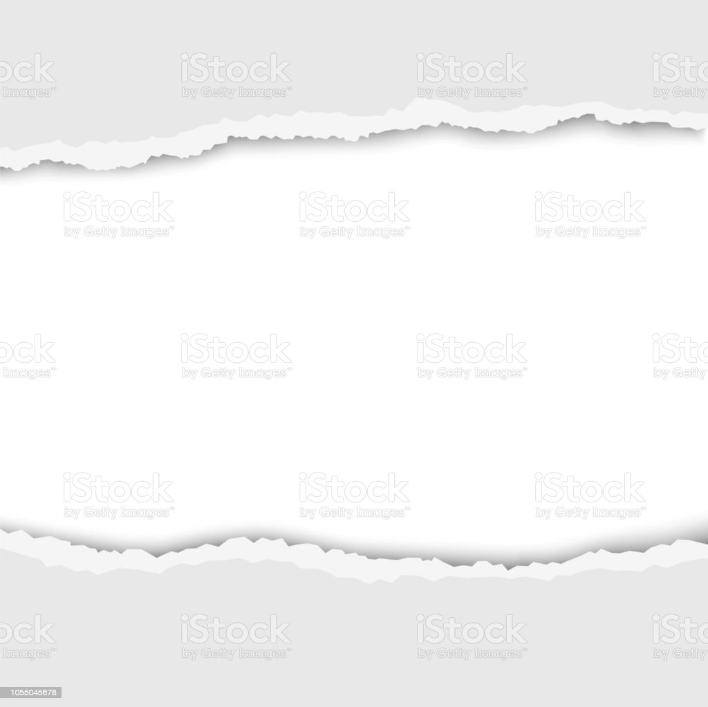 Torn hole in white sheet of paper vector template paper design stock torn hole in white sheet of paper vector template paper design royalty free maxwellsz