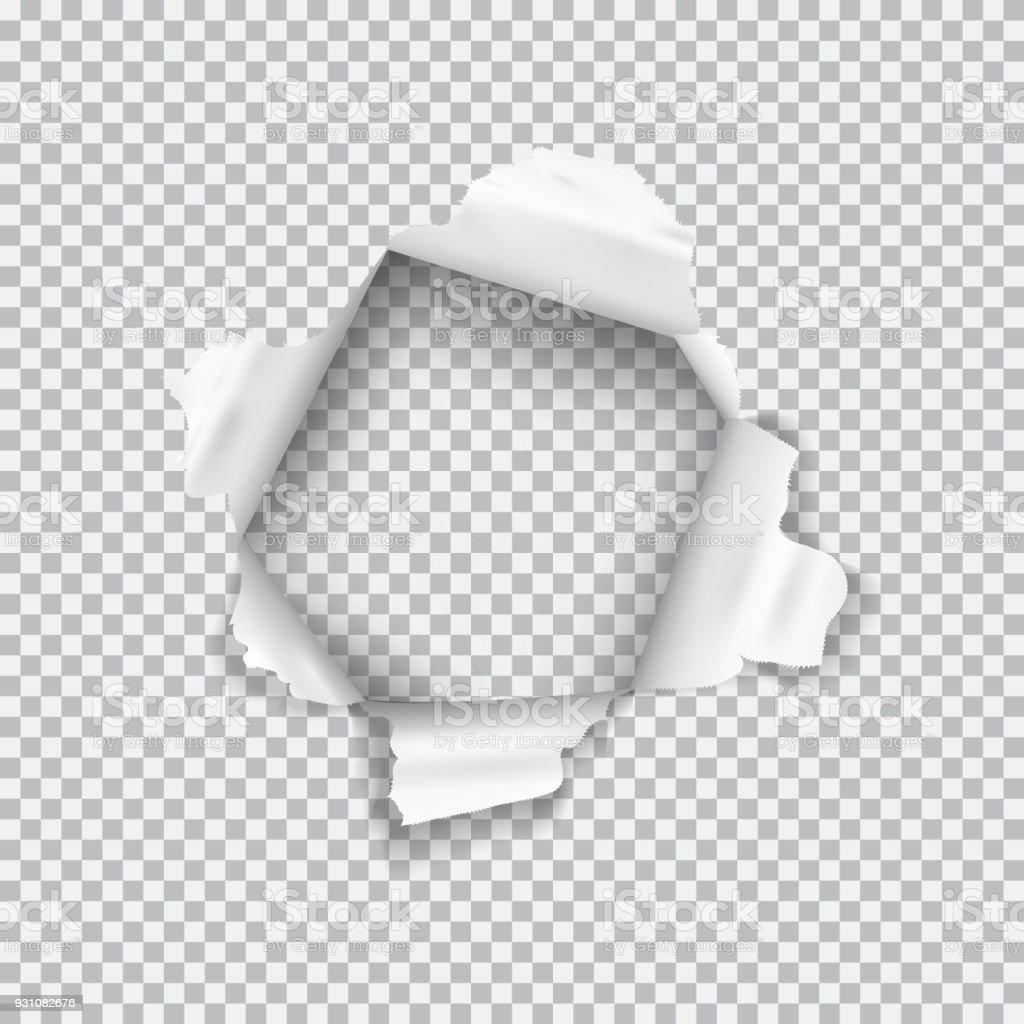 how to make a realistic hole in photoshop