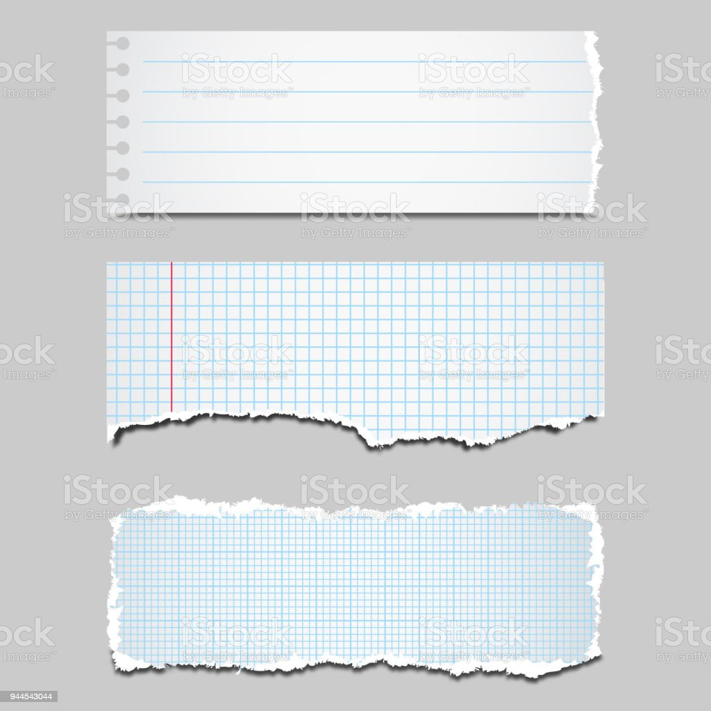 Torn Paper Stock Illustration - Download Image Now