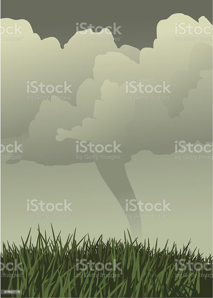 Tornado Alley royalty-free stock vector art